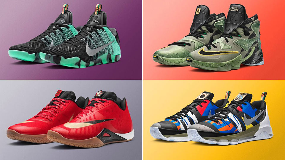 nike unveils allstar shoes for lebron kobe kyrie and